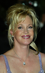 Melanie Griffith at the premiere of Femme Fatale, The Cannes Film Festival 2002, France. Headshot
