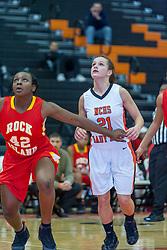 28 December 2010: 2010 State Farm Holiday Basketball Classic,  Normal Community Lady Iron v Rock Island Lady Rocks, Girls