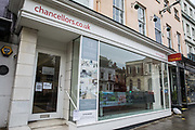 A branch of estate agent Chancellors is pictured during the second coronavirus lockdown on 9th November 2020 in Windsor, United Kingdom. The Housing Secretary Robert Jenrick has advised that the property market may continue to operate during the lockdown provided that safety guidance intended to prevent the spread of COVID-19 is followed.