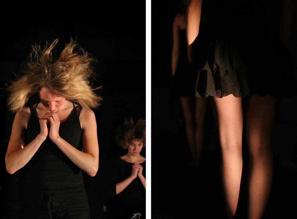 Dance performance // Dansuitvoering in cultureel centrum USVA, Groningen.