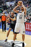 DESCRIZIONE : Bologna LNP DNB Adecco Silver GironeA 2013-14 Fortitudo Bologna Basket Cecina<br /> GIOCATORE : Fin Gabriele <br /> SQUADRA : Fortitudo Bologna <br /> EVENTO : LNP DNB Adecco Silver GironeA 2013-14<br /> GARA :  Fortitudo Bologna Basket Cecina <br /> DATA : 05/01/2014<br /> CATEGORIA : Tiro<br /> SPORT : Pallacanestro<br /> AUTORE : Agenzia Ciamillo-Castoria/A.Giberti<br /> Galleria : LNP DNB Adecco Silver GironeA 2013-14<br /> Fotonotizia : Bologna LNP DNB Adecco Silver GironeA 2013-14 Fortitudo Bologna Basket Cecina<br /> Predefinita :
