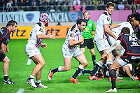 Geoffrey DOUMAYROU - 24.04.2015 - Stade Francais / Stade Toulousain - 23eme journee de Top 14<br />