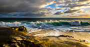 Crashing Waves At Windansea Beach In La Jolla