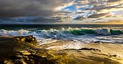 Crashing Waves At Windansea Beach In La Jolla