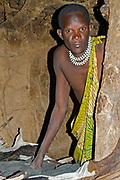 Datoga man.   Lake Eyasi, northern Tanzania.