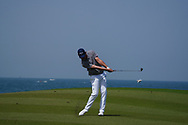 Jeff Winther (DEN) on the 9th during Round 3 of the Oman Open 2020 at the Al Mouj Golf Club, Muscat, Oman . 29/02/2020<br /> Picture: Golffile | Thos Caffrey<br /> <br /> <br /> All photo usage must carry mandatory copyright credit (© Golffile | Thos Caffrey)