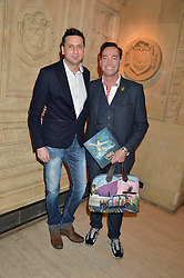 DAMON SCOTT and CRAIG REVEL HORWOOD at the opening night of Cirque du Soleil's award-winning production of Quidam at the Royal Albert Hall, London on 7th January 2014.
