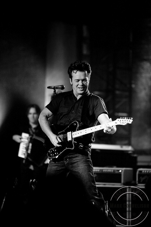 John Mellencamp played an intimate concert at the 900 seat  historic Crump Theater, the site of one of his first concerts ever in Columbus, Indiana  on Tuesday  September23, 2008. Photo by Mark Cornelison