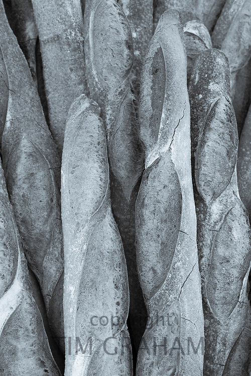 FINE ART PHOTOGRAPHY by Tim Graham<br /> FOOD - Fresh-Baked French Baguettes