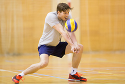 Jan Klobucar during training camp of Slovenian Volleyball Men Team 1 month before FIVB Volleyball World League tournament in Ljubljana, on May 5, 2016 in Arena Vitranc, Kranjska Gora, Slovenia. Photo by Vid Ponikvar / Sportida