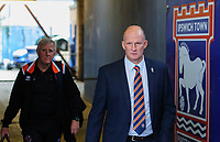 Blackpool manager Simon Grayson arrives at the ground<br /> <br /> Photographer Chris Vaughan/CameraSport<br /> <br /> The EFL Sky Bet League One - Ipswich Town v Blackpool - Saturday 23rd November 2019 - Portman Road - Ipswich<br /> <br /> World Copyright © 2019 CameraSport. All rights reserved. 43 Linden Ave. Countesthorpe. Leicester. England. LE8 5PG - Tel: +44 (0) 116 277 4147 - admin@camerasport.com - www.camerasport.com