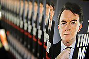 "Rows of Labour Party politician Lord Mandelson's  autobiography 'The Third Man', on display in a book shop in central London, July 15, 2010. Former Labour leader Neil Kinnock accused Lord Mandelson of becoming a ""caricature of himself"" over the book."