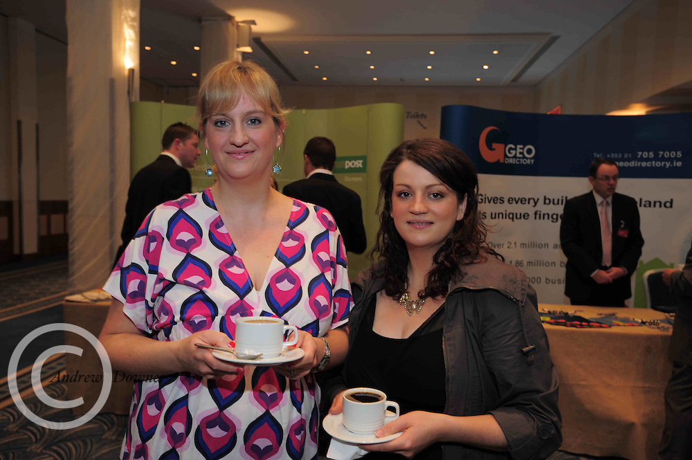 Louise Hickey Oranmore and  Mary Conneely-James Kilcolgan Local business people came face to face with Bobby Kerr of Dragon's Den,  when they attended the An Post Driving Success Roadshow at the Radisson Hotel, Galway. The event focused on practical and creative marketing techniques and saw attendees gain valuable insights into successful campaigns from leading marketing experts. Broadcaster Matt Cooper was MC at the event. .Photo:Andrew Downes