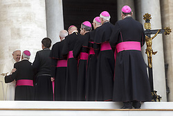 April 18, 2018 - Vatican City, Vatican - Pope Francis leads his Weekly General Audience in St. Peter's Square. (Credit Image: © Giuseppe Ciccia/Pacific Press via ZUMA Wire)