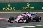 © Photo4 / LaPresse<br /> 13/04/2018 Shanghai, China<br /> Sport <br /> Grand Prix Formula One China 2018<br /> In the pic: free Practice 1, Sergio Perez (MEX) Sahara Force India F1 VJM11<br /> <br /> © Photo4 / LaPresse<br /> 13/04/2018 Shanghai, China<br /> Sport <br /> Grand Prix Formula One China 2018<br /> In the pic: free Practice 1, Sergio Perez (MEX) Sahara Force India F1 VJM11