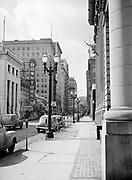 6403Sixth Avenue in Portland, looking south from near Oak Street. March 24, 1946.