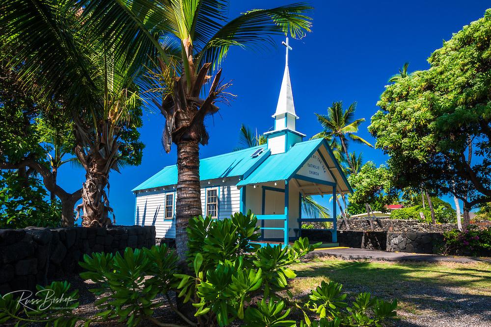St. Peter's Catholic Church, Kailua-Kona, The Big Island, Hawaii USA