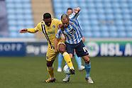 Coventry City v Millwall 160416