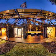 Sun Pavilion temporary display at the Nelson Atkins Museum of Art in Kansas City, Missouri.