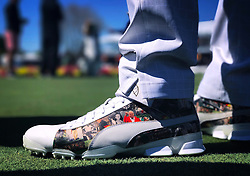 Rickie Fowler's special Puma golf shoes honoring Arnold Palmer, Arnold Palmer Invitational, 2017