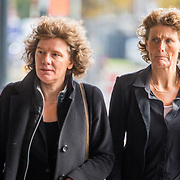 NLD/Amsterdam/20171014 - Besloten erdenkingsdienst overleden burgemeester Eberhard van der Laan, Carolien Gehrels en partner