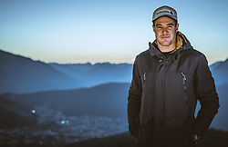 22.10.2018, Rosshuette, Seefeld, AUT, Dario Cologna im Portrait, im Bild Dario Cologna posiert während einer Fotosession // the Swiss Cross Country Skiier Dario Cologna poses for a portrait during a photo session at the Rosshuettte in Seefeld, Austria on 2018/10/22. EXPA Pictures © 2018, PhotoCredit: EXPA/ JFK