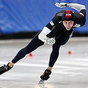 September 18, 2010 - Kearns, Utah - Michael Stein-Stewart races in long track speedskating time-trials held at the Utah Olympic Oval.
