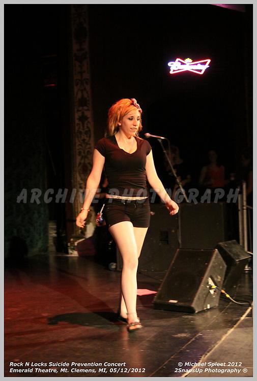 Rock N Locks,  at Emerald Theatre, Mt Clemens, MI, 05/12/2012.  (Image Credit: Michael Spleet / 2SnapsUp Photography)