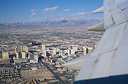 Airplane taking of from Las Vegas