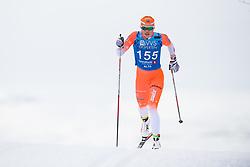April 6, 2018 - Alta, NORWAY - 180406 Hanne Skulbru competes in the Women's 5 km Classic during the Norwegian Championship on April 6, 2018 in Alta..Photo: Jon Olav Nesvold / BILDBYRÃ…N / kod JE / 160235 (Credit Image: © Jon Olav Nesvold/Bildbyran via ZUMA Press)