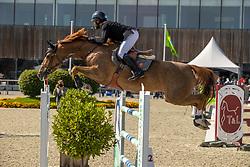 Berrittella Loris, BEL, Nora de Mariposa<br /> Belgian Championship 7 years old horses<br /> SenTower Park - Opglabbeek 2020<br /> © Hippo Foto - Dirk Caremans<br />  13/09/2020