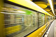 Germany, Berlin Underground station