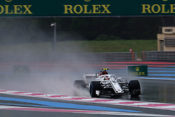 June 23, 2018 - Le Castellet, Var, France - Sauber Driver CHARLES LECLERC (FRA) in action during the Formula one French Grand Prix at the Paul Ricard circuit at Le Castellet - France (Credit Image: © Pierre Stevenin via ZUMA Wire)