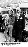 Leoni Freeda and Paul  Johnson. Jonathan Clark Gallery, 18 Park Walk, London. 18/6/97. Film 97550f2<br />© Copyright Photograph by Dafydd Jones<br />66 Stockwell Park Rd. London SW9 0DA<br />Tel 0171 733 0108