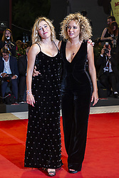 Valeria Bruni Tedeschi, Valeria Golino walk the red carpet ahead of Les Estivants (The Summer House) screening during the 75th Venice Film Festival at Sala Grande on September 5, 2018 in Venice, Italy. Photo by Marco Piovanotto/ABACAPRESS.COM