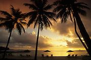Sunset, Palau Pacific Resort, Palau, Micronesia