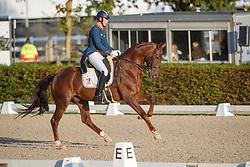 Van Silfhout Diederik, NED, DSK Bordolino 8<br /> Nederlands Kampioenschap dressuur<br /> Ermelo 2020<br /> © Hippo Foto - Sharon Vandeput<br /> 20/09/2020
