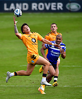 Rugby Union - 2019 / 2020 Gallagher Premiership - Bath vs Wasps<br /> <br /> Wasps' Jacob Umaga in action, at the Recreation Ground.<br /> <br /> COLORSPORT/ASHLEY WESTERN