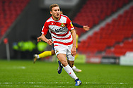 Herbie Kane of Doncaster Rovers (15) in action during the EFL Sky Bet League 1 match between Doncaster Rovers and Scunthorpe United at the Keepmoat Stadium, Doncaster, England on 15 December 2018.