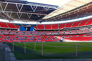 Wembley Stadium during the Premier League match between Tottenham Hotspur and West Bromwich Albion at Wembley Stadium, London, England on 25 November 2017. Photo by Andy Walter.