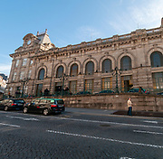 Exterior of Sao Bento Train station, Porto, Portugal