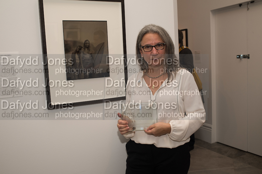 PRIZEWINNER: JONI STERNBACH, Private view of the Taylor Wessing Portrait prize, National Portrait Gallery, London.  15 November 2016