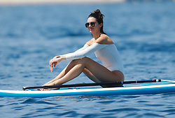 Antibes, 24th of May, 2017<br /> Kendall Jenner takes paddle board lessons<br /> ABACAPRESS.COM