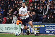 Preston North End's Kevin Davies in action. Skybet football league one play off semi final, 1st leg match, Preston North End v Rotherham United at the Deepdale Stadium in Preston, England on Saturday 10th May 2014.<br /> pic by Chris Stading, Andrew Orchard sports photography.