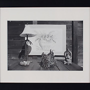 """Title: Her Name is Sadie<br /> Artist: MC Fleming<br /> Date: 2016<br /> Medium: Silver gelatin print<br /> Dimensions: 11.25 x 9.25""""<br /> Instructor: Carlo Fields-Zinzi<br /> Awards: Third Place in Photography and Digital Art - 40th Annual Student Art Exhibition<br /> Status: Available<br /> Location: HLC4000 Storage"""