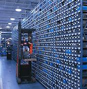 Airplane supply warehouse in Oklahoma.