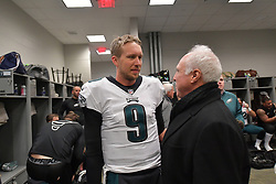 The Philadelphia Eagles beat the New York Giants 34-29 at Metlife Stadium on December 17, 2017 in East Rutherford, New Jersey.  (Photo by Drew Hallowell/Philadelphia Eagles)