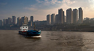 Yangtze River Barges