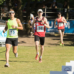 01.07.2015, Olympiapark, Berlin, GER, Moderner Fünfkampf WM, im Bild Fabian Liebig, Verein Potsdam // during Mens relay race of the the world championship of Modern Pentathlon at the Olympiapark in Berlin, Germany on 2015/07/01. EXPA Pictures © 2015, PhotoCredit: EXPA/ Eibner-Pressefoto/ Kleindl<br /> <br /> *****ATTENTION - OUT of GER*****