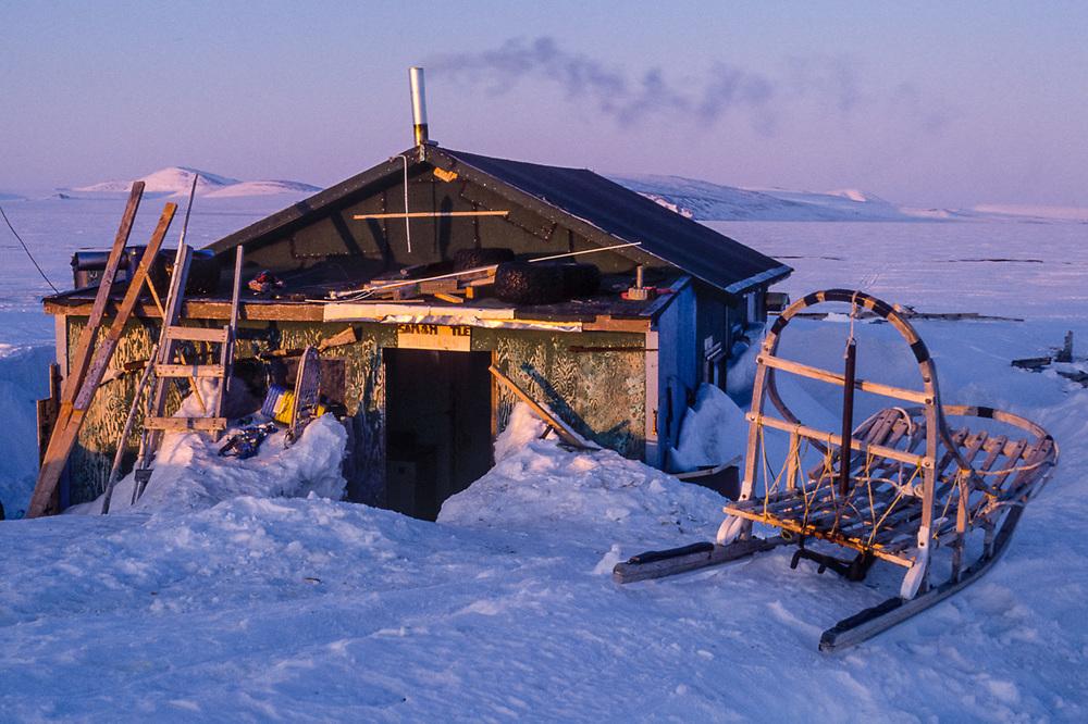 Native allotment, Chukchi Sea, Cape Krusenstern National Monument, Alaska, USA